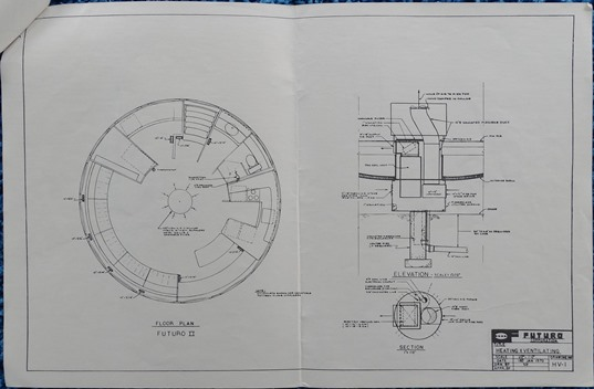Futuro II - Plans - Heating & Ventilating - HV-1 - 010170