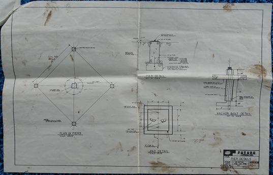 Futuro II - Plans - Pier Details - PD-1 - 011470