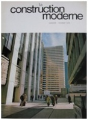 La Construction Moderne Jan/Feb 1974 Issue