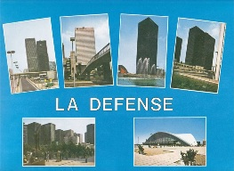 La Defense Multi-View Postcard