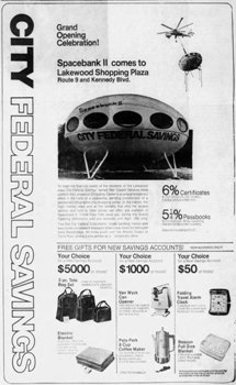 Lakewood Shopping Plaza Spacebank II Ad