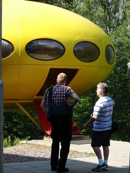 Futuro House - WeeGee Visit 2014