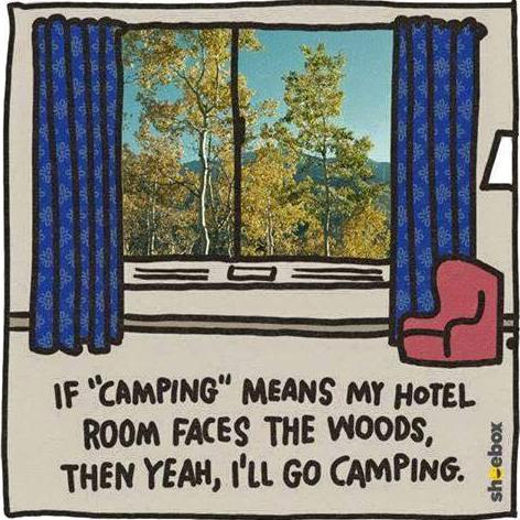 Camping? I'm All In If ...