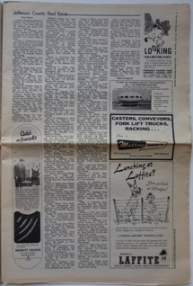 Cervi's Rocky Mountain Journal - Futuro Ad - Displayed In Englewood, CO - 100972