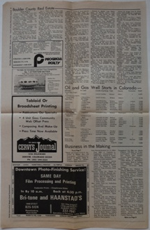 Cervi's Rocky Mountain Journal - Futuro Ad - Displayed In Englewood, CO - 103072