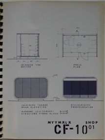 CF-10 Booklet With Plans Including The CF-05 Canopy - Undated - 1