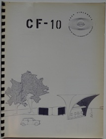 CF-10 Booklet With Plans Including The CF-05 Canopy - Undated - Front Cover