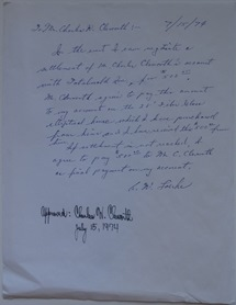 Charles Cleworth Letter Re Potential Futuro Sale - 071574