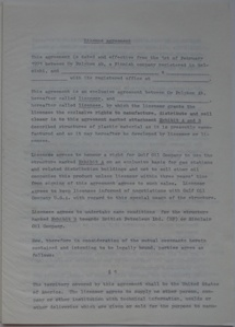 Polykem/Futuro Corporation Of Colorado License Agreement [Gulf] - Unsigned - Undated - 1