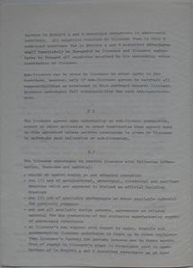 Polykem/Futuro Corporation Of Colorado License Agreement [Gulf] - Unsigned - Undated - 2