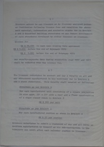 Polykem/Futuro Corporation Of Colorado License Agreement [Gulf] - Unsigned - Undated - 4