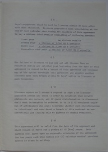 Polykem/Futuro Corporation Of Colorado License Agreement [Gulf] - Unsigned - Undated - 5