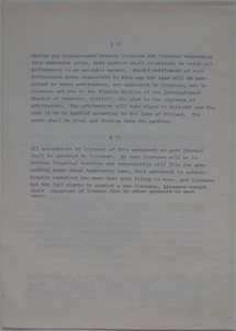 Polykem/Futuro Corporation Of Colorado License Agreement [Gulf] - Unsigned - Undated - 6