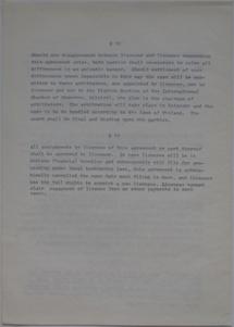 Polykem/Futuro Corporation Of Colorado License Agreement [Gulf] - Unsigned - Undated - 6
