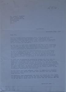 Futuro Corporation Of Philadelphia & Polykem Correspondence - C.J. Olander To Leonard Fruchter - 092470 - 1