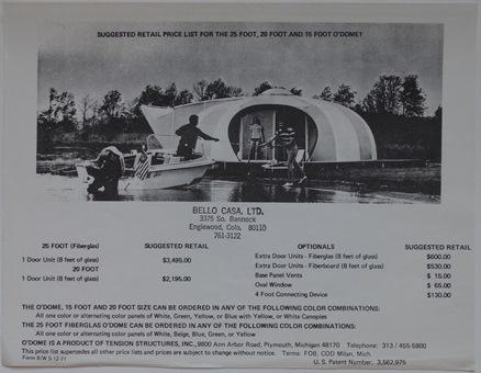 O'Dome Marketing Flyer