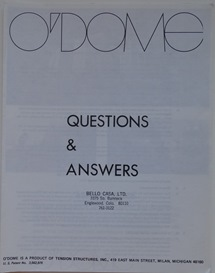 O'Dome Marketing Package Brochure Q&A 1