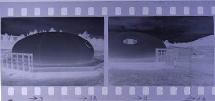 Futuro Corporation Of Colorado - Platform (Futuro) House - June 1973 - Negatives 2