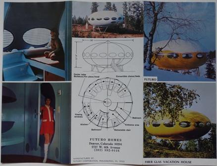 Futuro Homes, Denver - Futuro Trifold Brochure - Outside