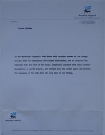 WestPoint Pepperell House Photos - Corridor Text