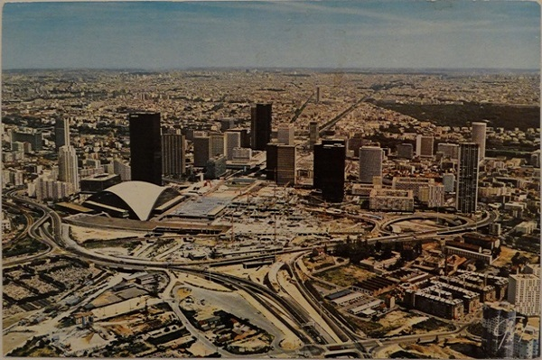 Postcard - La Defense/CNIT Aerial View - Front