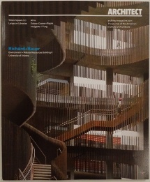 Architect Magazine December 2015 - Cover