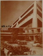 Arkkitehti 4/73 Cover
