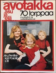 Avotakka April 1973 Issue - Cover