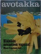 Avotakka May 1968 Cover