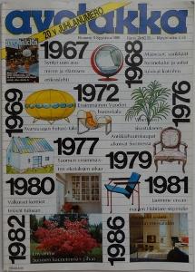 Avotakka September 1986 Cover