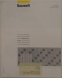 Bauwelt 44/04 111904 - Cover