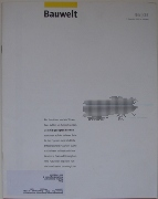 Bauwelt - 46|03 051203 Cover