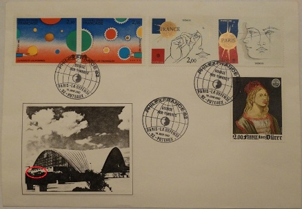 PhilexFrance82 - Folon Stamps 061482 Cover
