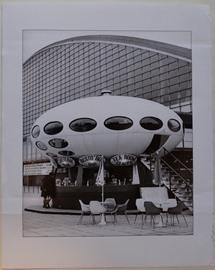 Jean Ribière - Futuro House C.N.I.T. - Circa 1972 - Print Form Original Negative - 3