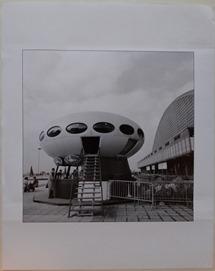 Jean Ribière - Futuro House C.N.I.T. - Circa 1972 - Print Form Original Negative - 4