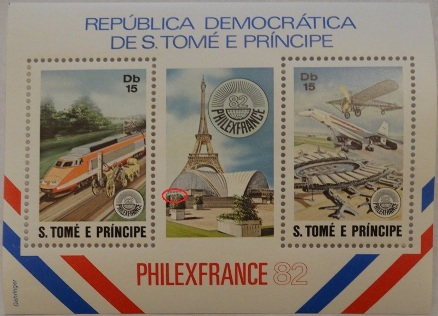 República Democrática De São Tomé E Príncipe Stamps - Stamp Strip Mint Perforated - PhilexFrance82