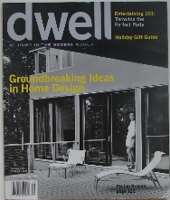 Dwell Magazine - December 2004 - Cover