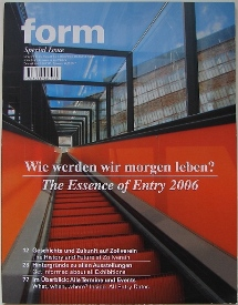 Form: Special Issue - Entry 2006 Cover