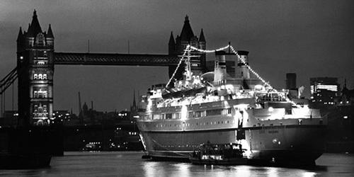 Finnpartner Ferry - Tower Bridge - October 1968