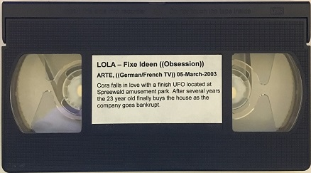 French/German TV Video Tape