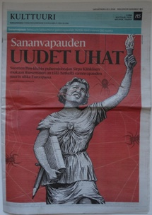 Helsingin Sanomat - Culture Section - 012316 Issue - Cover