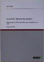 Kunststoff - Material Der Stunde?! Cover