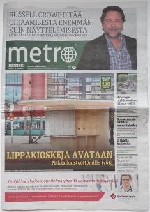 Metro Helsinki 050815 Cover