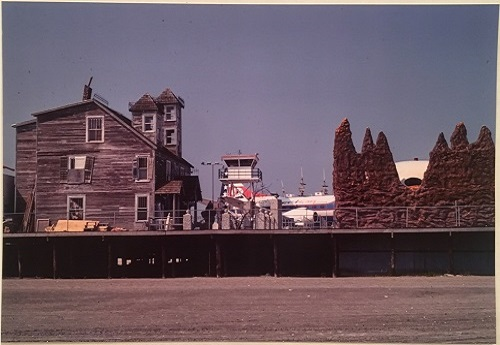 Greenwich Futuro On Morey's Pier, NJ 1968