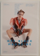 Off Black Magazine - The Man Made Issue - Cover