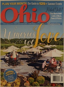 Ohio Magazine August 2016 - Cover