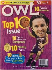 Owl - November 2006 Issue - Cover