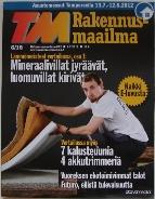 Rakennus-maailma 6/12 Cover