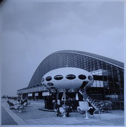 Jean Ribière - Futuro House C.N.I.T. - Circa 1972 - Print Form Original Negative - 1