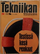 Tekniikan Maailma July 1973 Cover